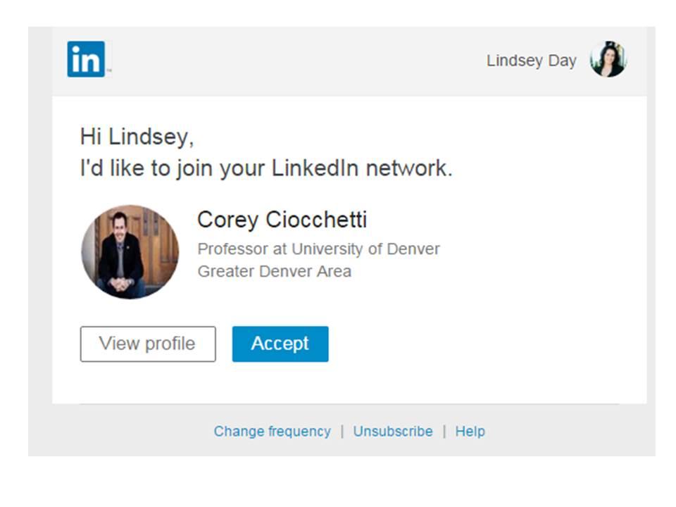 I'd Like to Connect With You on LinkedIn: LinkedIn