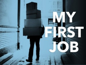 my first job