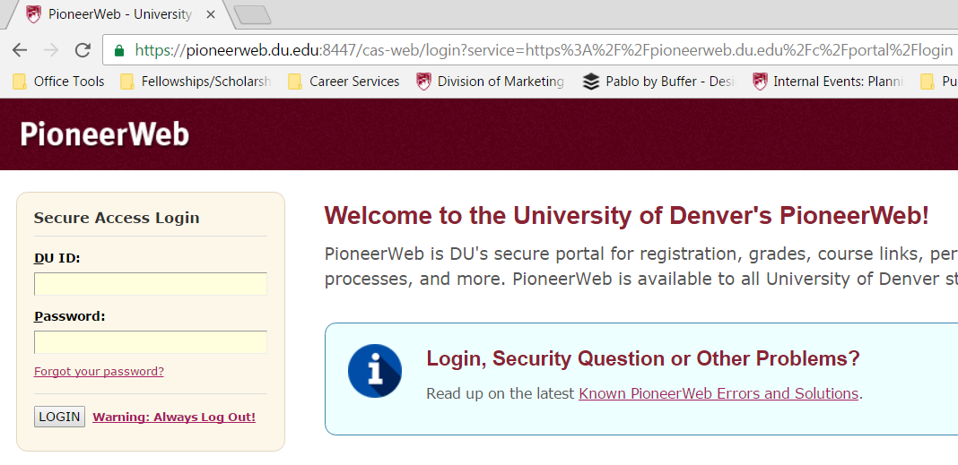 pioneer-web-login